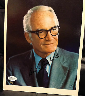 Barry Goldwater Signed 8X10 Photograph Autographed - Jsa