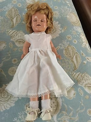 """22"""" Shirley Temple Composition Doll"""