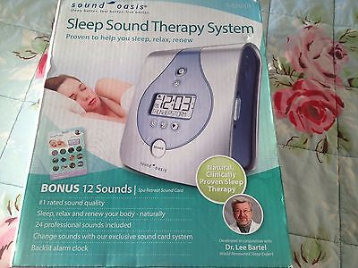 Sleep Sound Therapy System NEW In Box