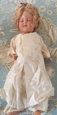 """17"""" Shirley Temple Composition Doll"""