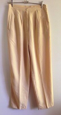 80's High Waist Pant And Vest Small EC