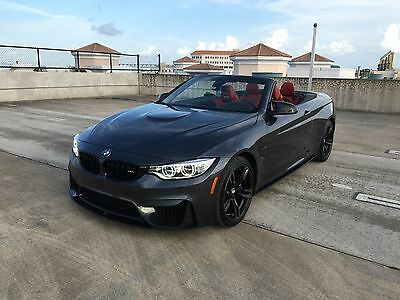 2015 BMW M4 Base 2dr Convertible 2015 BMW M4 Convertible with over $10,000 in M parts 13,800 Miles available now!