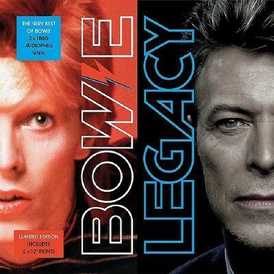 DAVID BOWIE Legacy (The Very Best Of Bowie) - 2LP / Vinyl (Limited + 2 Prints)