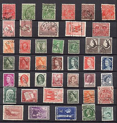 Australia STAMP Collection USED REF:QE243