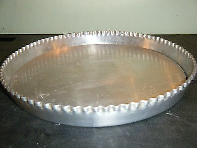 28cm PASTRY, FLAN, TART TIN, DISH with 3 LOOSE BASES & FLUTED TOP EDGE, CATERING