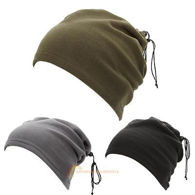 3In1 Winter Face Mask+Neck Warmer+Balaclava Cap Hat for Ski Cycling Motorcycle