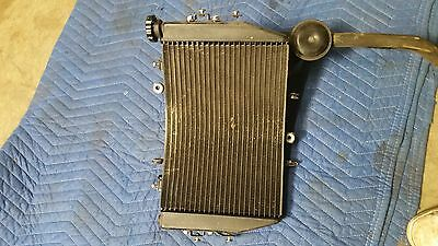 Triumph Speed Triple R Stock Radiator For Speed Triples 13 And Up