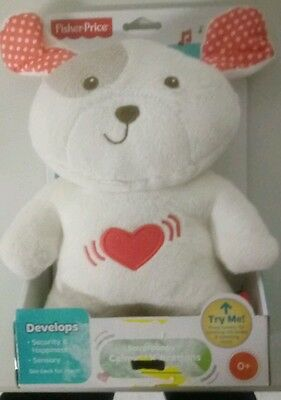 Fisher price   ( Snugapuppy Calming Vibrations puppy )
