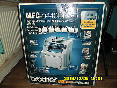 Brother High Speed Colour Laser Multifunction Printer Mfc-9440Cn