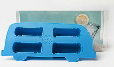 VW Volkswagen Split Screen Kombi Bus Camper Van Silicone Ice Cube Tray