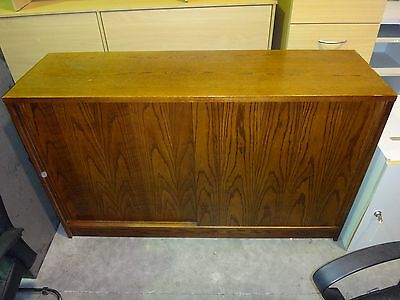 Walnut Coloured Filing Office Cabinet