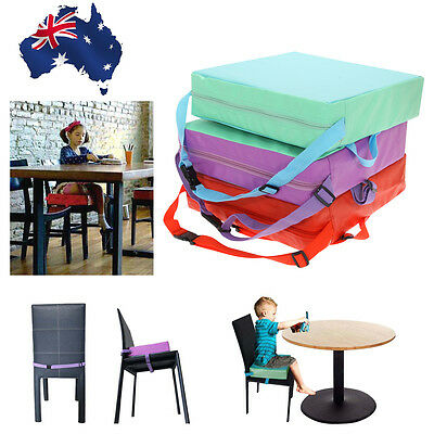 Portable Kids/ Baby/Child Dining Chair Highchair Soft Cushion Pad Seat Booster
