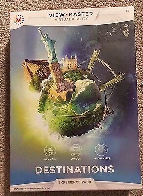 View Master Virtual Reality Destinations Experience Pack NEW
