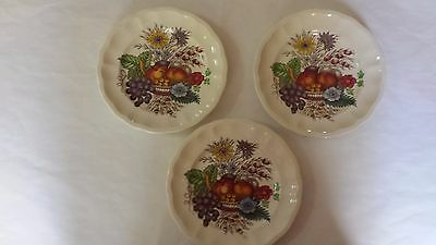 3 Spode Reynolds Bread and Butter plates