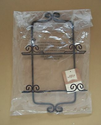 Wild Wings Mini Plate Rack Holder For Displaying Four Miniature Plates New