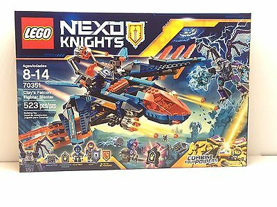 70351 LEGO Nexo Knights Clay's Falcon Fighter Blaster New Release Sealed