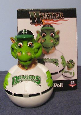 Heater Wobble Doll Dayton Dragons Original Box 6 inches Tall Mascot Limited