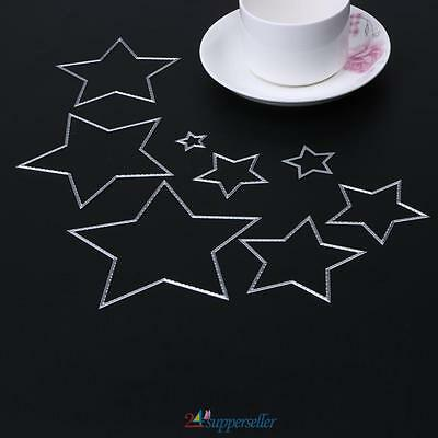 8XBasic Stars Sizzix Big Shot Die Cuts Metal Die Cutting Dies Scrapbooking Gift