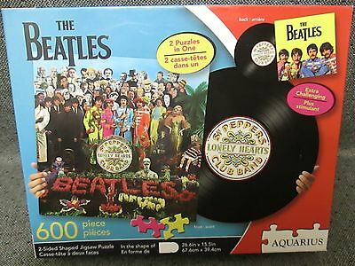 Beatles Sgt Peppers Lonely Hearts Club Band Album Cover Jigsaw Puzzle
