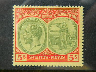 St Kitts  Sc# 34 (Sg 34)  Mounted Mint                1703