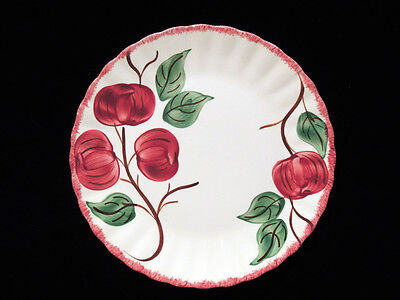Blue Ridge Southern Potteries Red/Green 9.5 in Plate