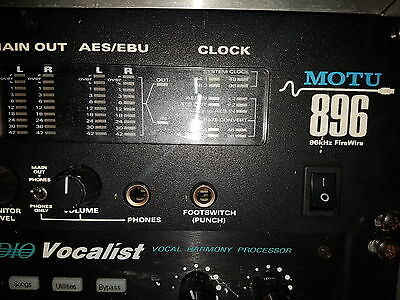 Motu 896 firewire interface