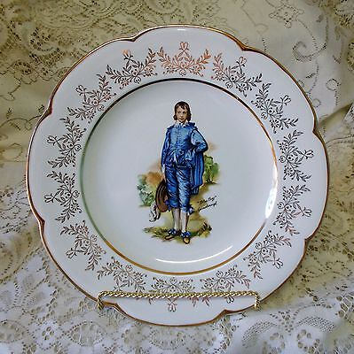 Wood And Sons Blue Boy Gainsborough Serving Display Plate Made In England