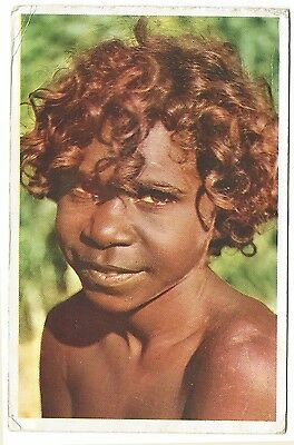 OLD POSTCARD Aboriginal Girl Melville Island  nd. c.1960's