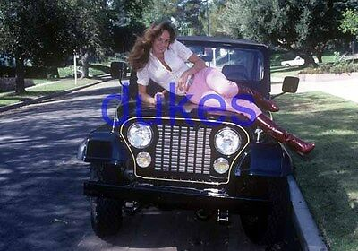 the DUKES OF HAZZARD #756,CATHERINE BACH,candid photo