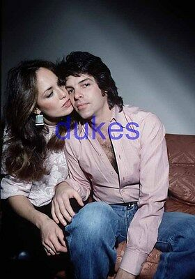 the DUKES OF HAZZARD #770,CATHERINE BACH,ROBERT SHIELDS,BARECHESTED,candid photo