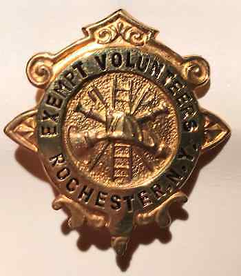 Rochester New York Fire Department Protectives Mini Badge