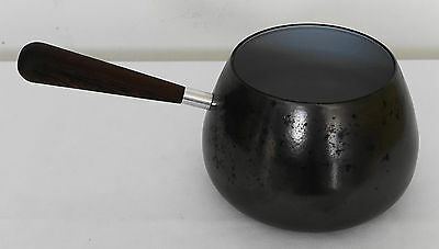 V-ZUG Made In Switzerland Enameled Cast Iron EMAIL 6 CUP Fondue Sauce Pot