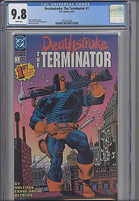 Deathstroke the Terminator #1 CGC 9.8 DC 1991 Comic : NEW Frame