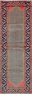 """Hand-knotted Persian Carpet 3'5"""" x 10'2"""" Koliai Wool Rug...DISCOUNTED!"""
