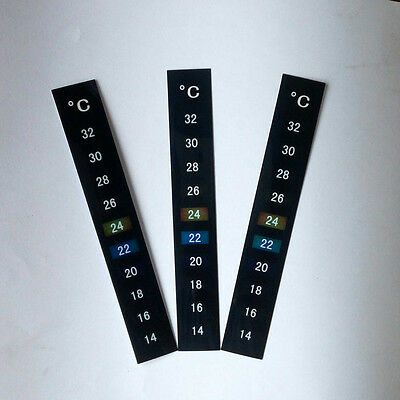 Strip Temperature Thermometer Aquarium Fish Tank Sticker Adhesive Home brew beer