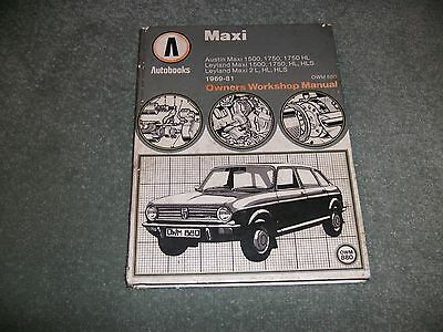 Autobooks Owners workshop Manual for Austin Maxi