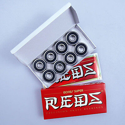 Bones Super Reds Skate And Scooter Bearings (New)