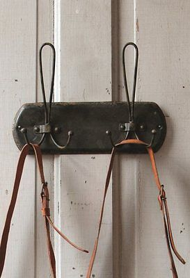 French Wire Coat Rack Wall Hook~Vintage Style