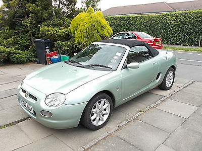 Beautiful 2002 MG MGF GREEN Convertible *5 months MOT* Engine starts first time.