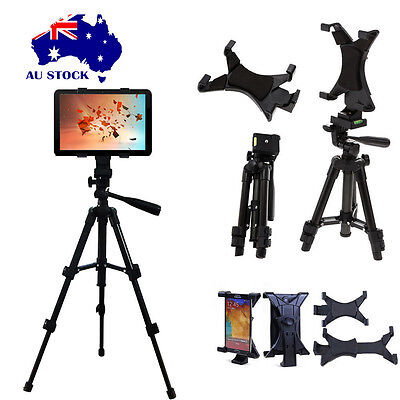 Adjustable Floor Mount Stand Tripod Holder For Ipad Mini 2 3 4 Tablet PC+ Bag AU