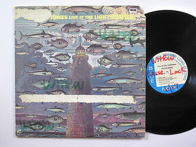 ELVIN JONES 2LP, LIVE AT THE LIGHTHOUSE (BLUE-NOTE US Issue VG/EX)