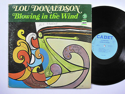 LOU DONALDSON LP, BLOWIN'IN THE WIND (CADET US Issue VG/VG)