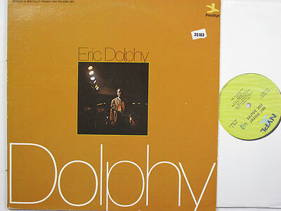 ERIC DOLPHY 2LP, DOLPHY (PRESTIGE US Issue EX/VG)