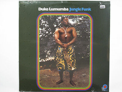 DUKE LUMUMBA LP, JUNGLE FUNK (CAPITOL US Issue NM/NM)
