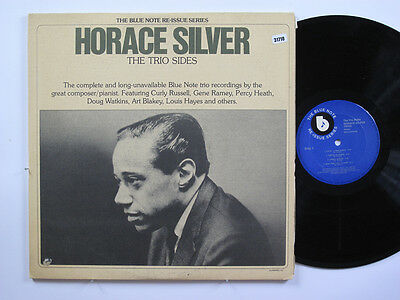 HORACE SILVER 2LP, THE TRIO SIDES (BLUE NOTE US Issue EX/EX)