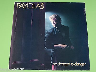 Payolas - No Stranger to Danger - 1982 A&M Records UK LP