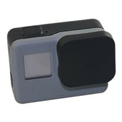 Rear /Front Lens Cap Protective Dust Cover for GoPro HERO 5 Camera Lens Black