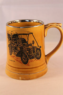 Wade Moko Glazed Tankard Veteran Cars 1904 Sunbeam Tourer Vet Car Club Vintage