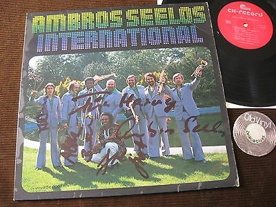 LP Ambros Seelos International Swiss with Mabusso SIGNIERT RARE | EX