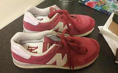 New Balance 574 ladies trainers size 8 UK pink berry